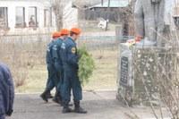 Возложение гирлянды к Могиле Неизвестного солдата