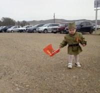 Юная патриотка